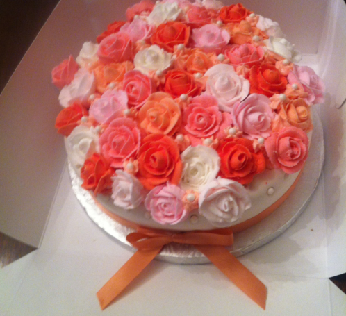Les Roses in Vanilla and Fondant