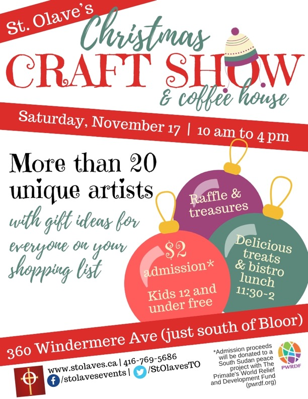 Craft Show Poster 2018